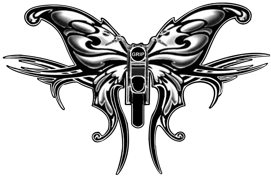 gripster's butterfly logo